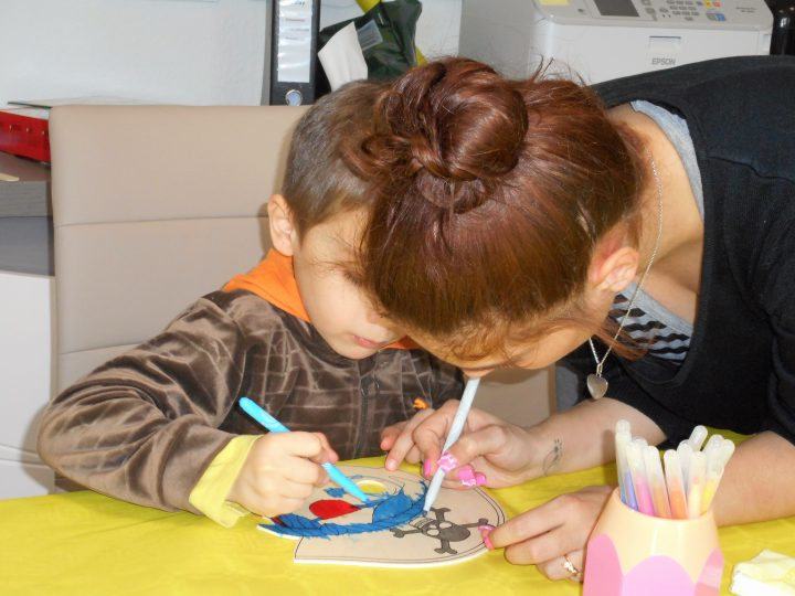 Un atelier parents-enfants