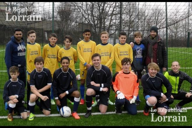 Le foot pour créer du lien social à Petite-Rosselle