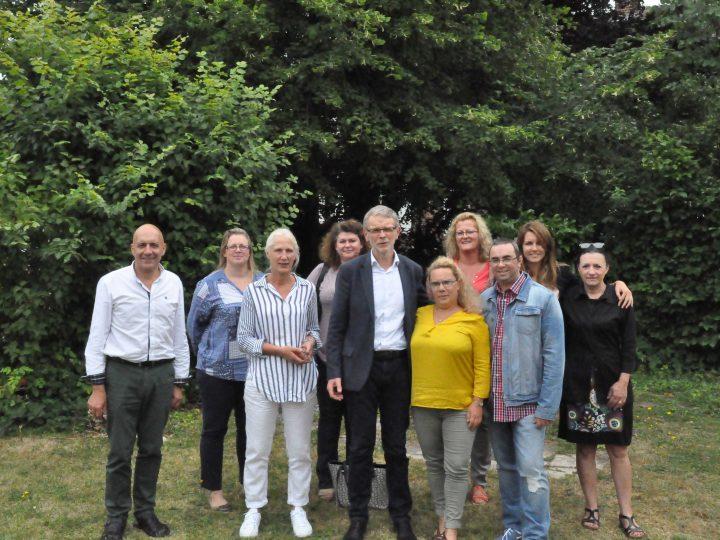 La maison d'enfants d'Evreux fête le départ en retraite du docteur Dugny