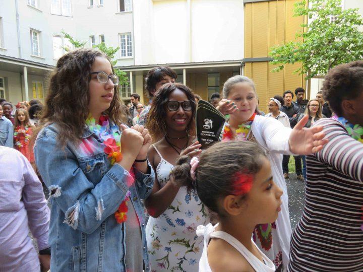 Une semaine d'activités exceptionnelles pour fêter la fin de l'année scolaire à la maison d'enfants de Paris