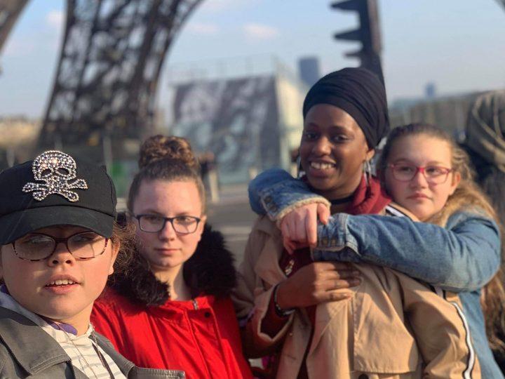Souvenirs d'une visite à Paris durant les vacances de février