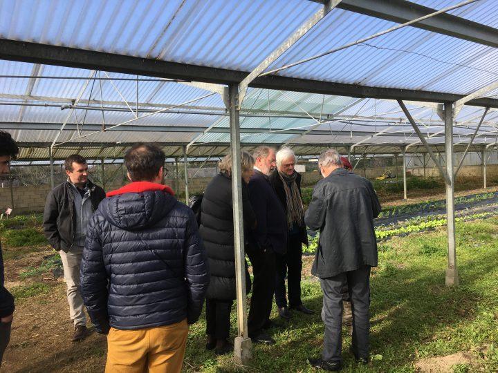 Le conseil d'administration visite le pôle Pays de la Loire