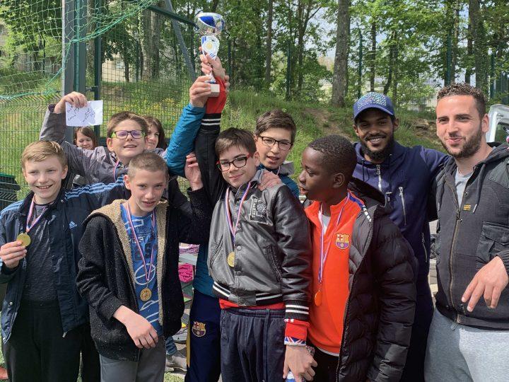 2ème place au tournoi de foot inter-itep de Lorraine pour notre itep de Boulay