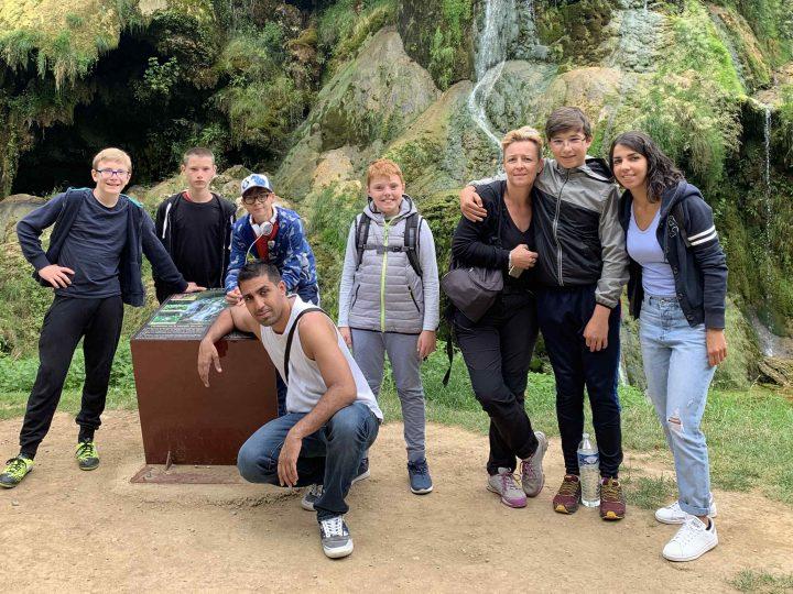 Une petite équipe d'aventuriers dans le Jura