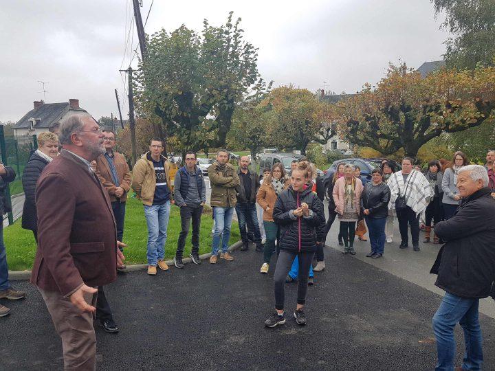 Inauguration de l'unité pédagogique de notre établissement de Pellevoisin et rencontre avec les salariés