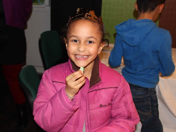 Des galettes et des fèves pour les enfants d'Evreux