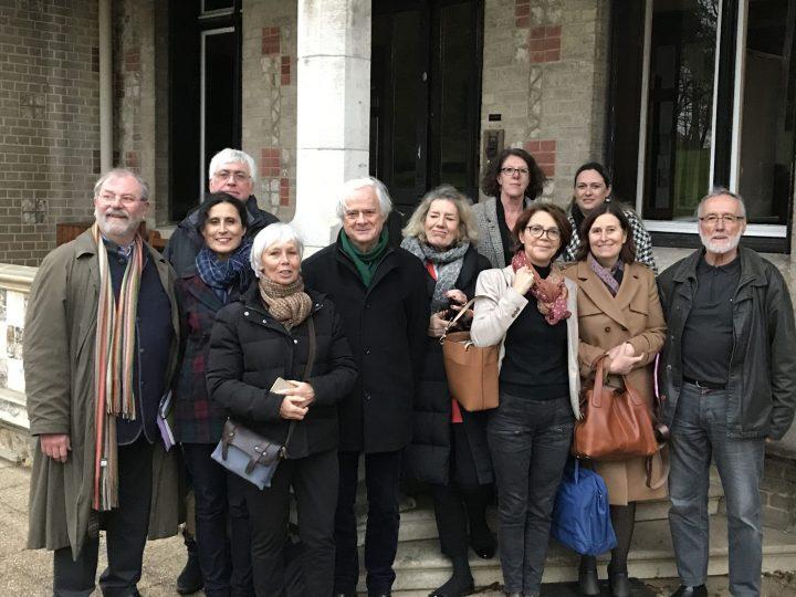 Les administrateurs visitent notre nouvel établissement le Ditep Jean du Plessis