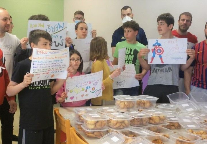 Les ados de la maison d'enfants de Woippy ont cuisiné pour les soignants