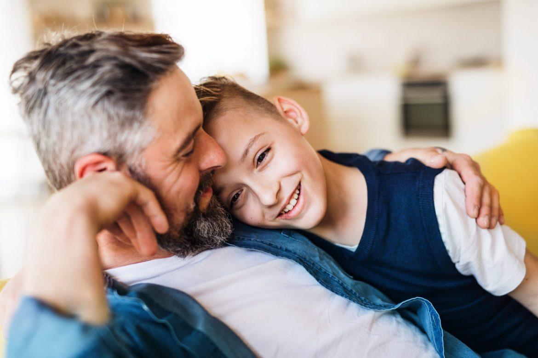 parent'aise - père avec enfant